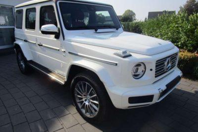 Mercedes Benz G500 2019 White