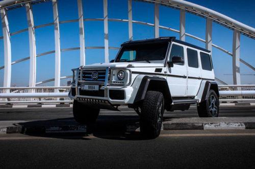 Mercedes Benz G500 4×4 White 3