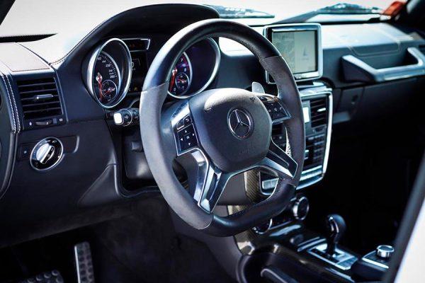 Mercedes Benz G500 4×4 White 4