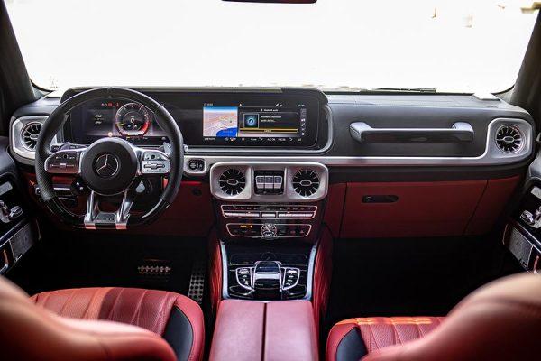 Mercedes Benz G63 AMG 2019 Black 3