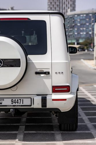 Mercedes Benz G63 AMG Edition 1 2019 White 7