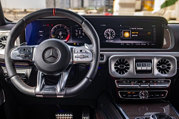 Mercedes Benz G63 AMG Edition 1 2019 White 4