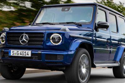 Mercedes Benz G500 2019 Blue